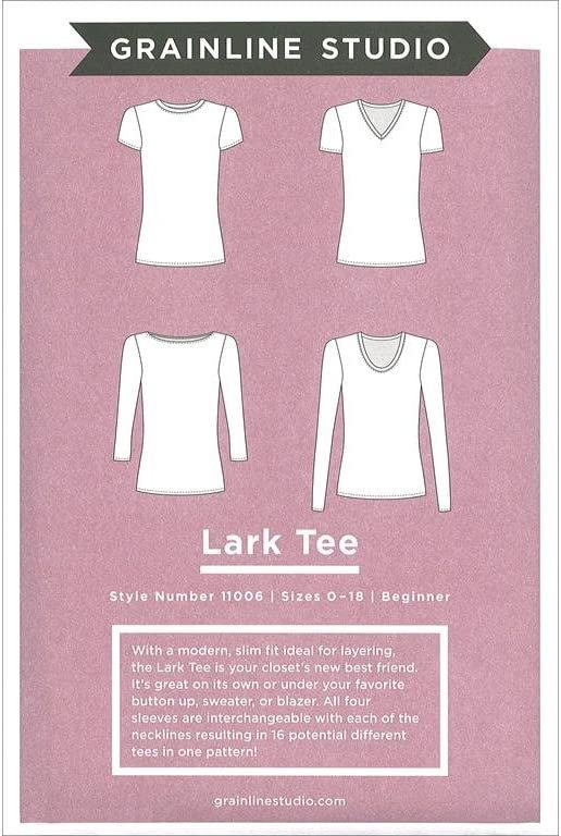 Lark Tee sewing pattern