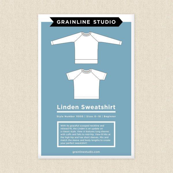 Linden Sweatshirt Pattern