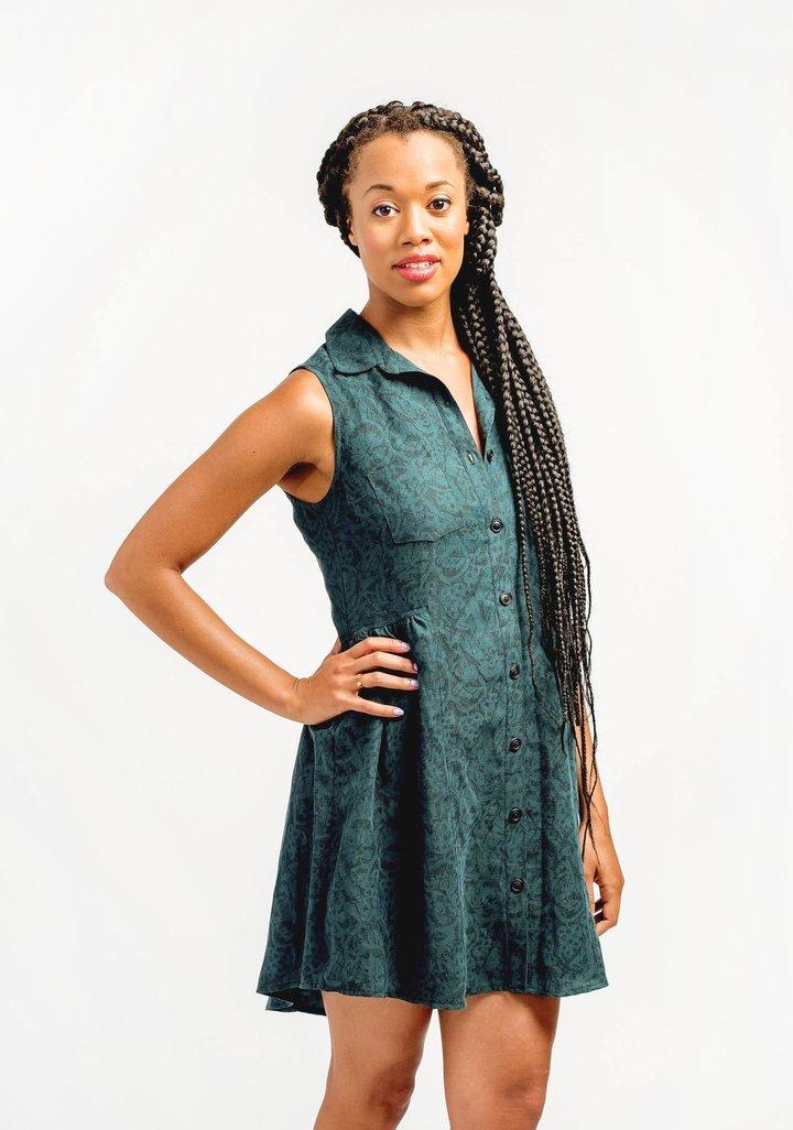 Grainline Studio Alder Shirtdress sewing pattern
