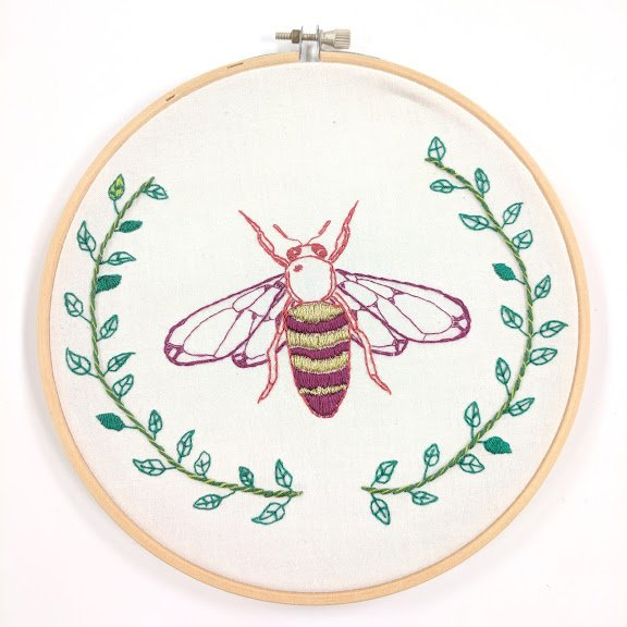 Large Hoop Embroidery Kits