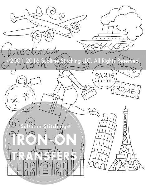Iron-on Embroidery Patterns