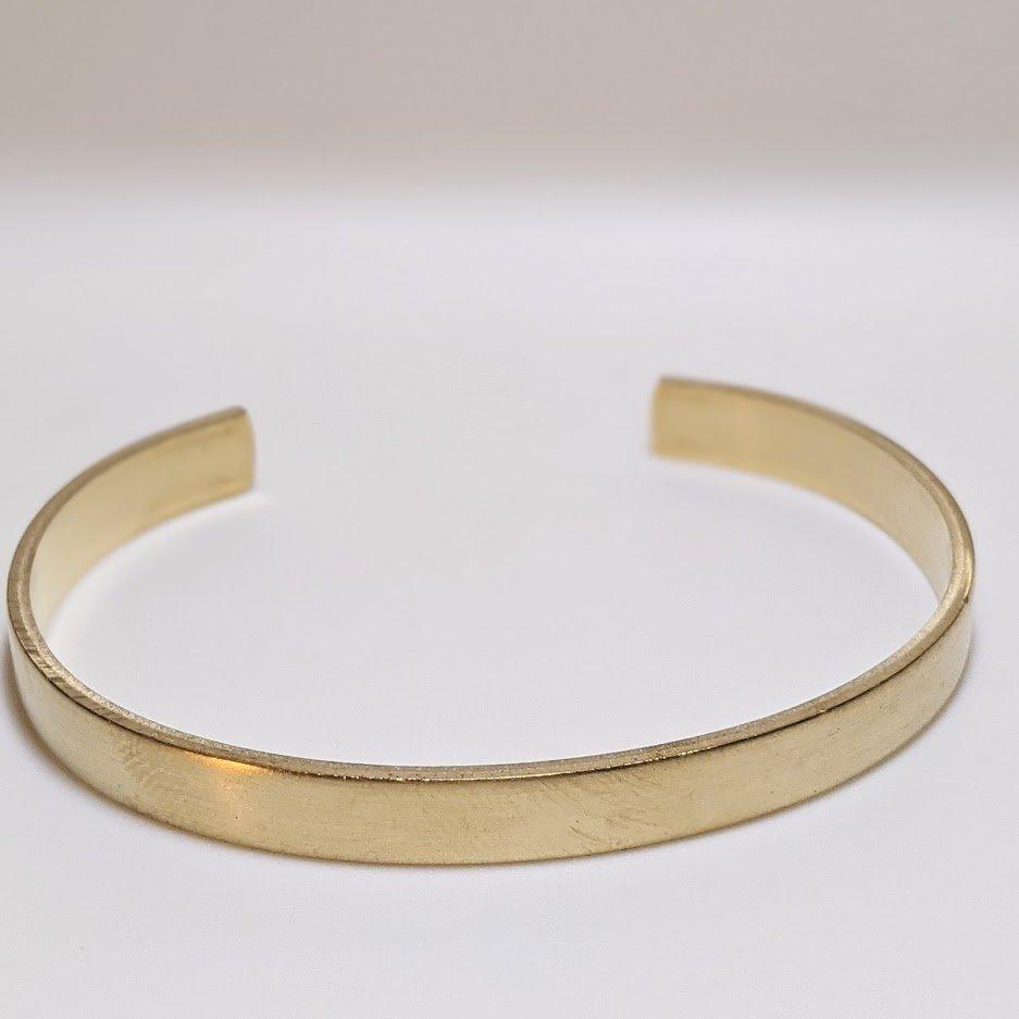 Brass Bracelet Cuffs