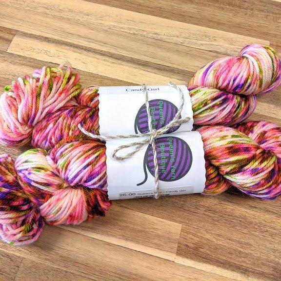 Candy Girl Worsted Yarn Bundle