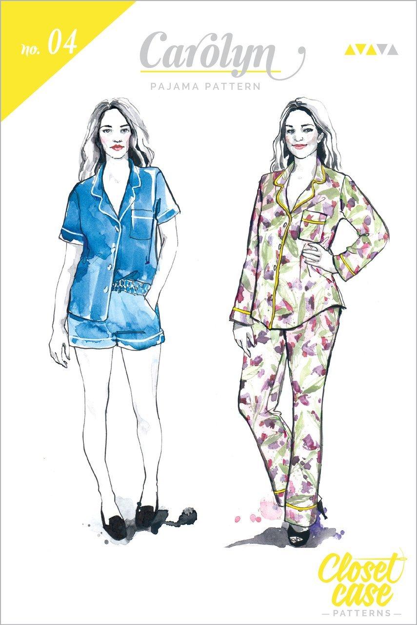 Carolyn Pajama sewing pattern