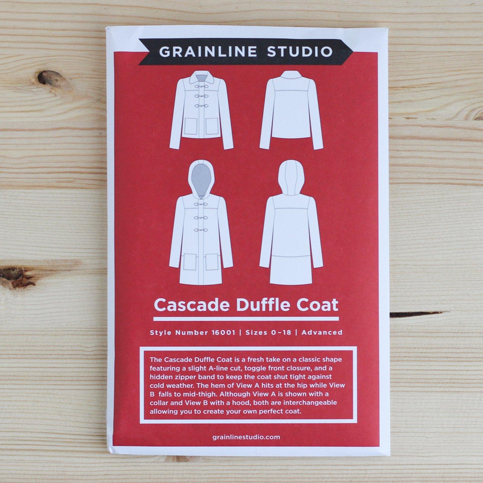 Cascade Duffle Coat sewing pattern