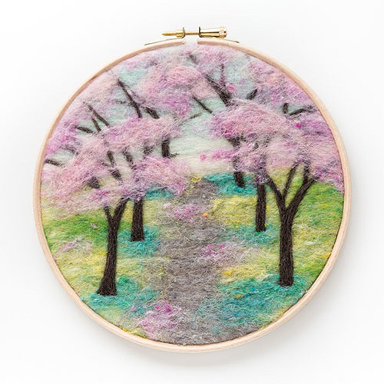 Cherry Blossom Needle Felting Kit