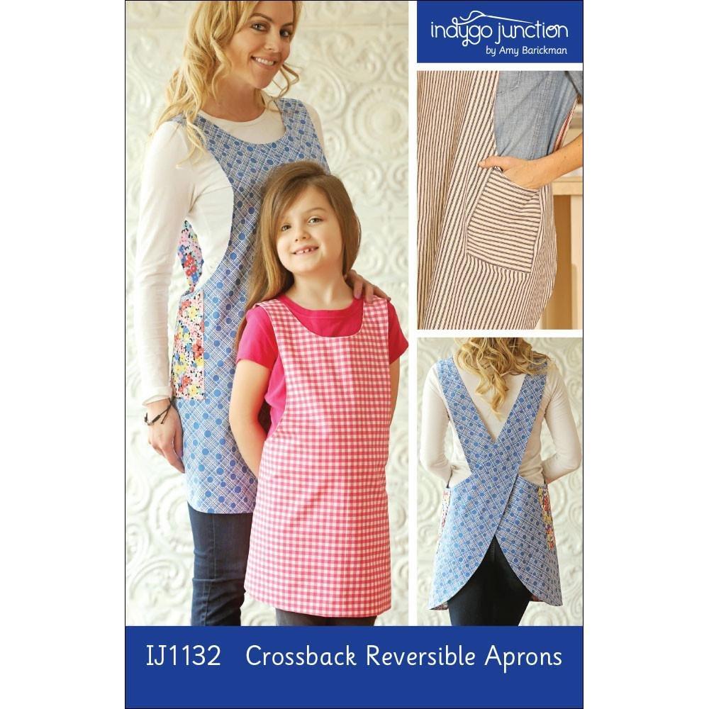 Crossback Reversible Apron Pattern