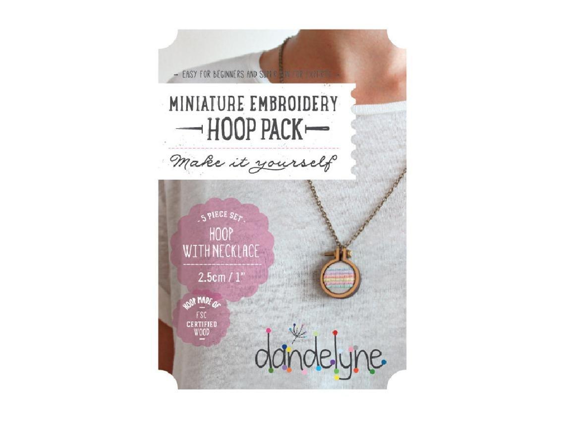 Dandelyne Mini Hoops