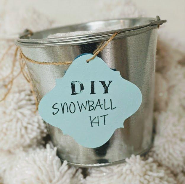 DIY Snowball Kits