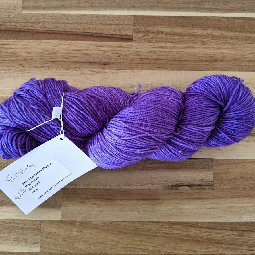 Ecstasy Fingering Weight Yarn