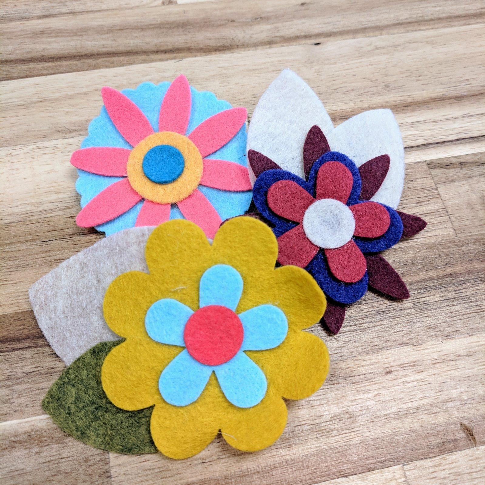 Felt Flower Kits