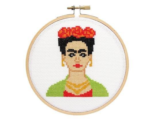 Frida Cross Stitch Kit