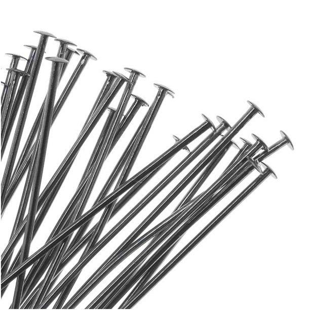 Gunmetal Head Pins