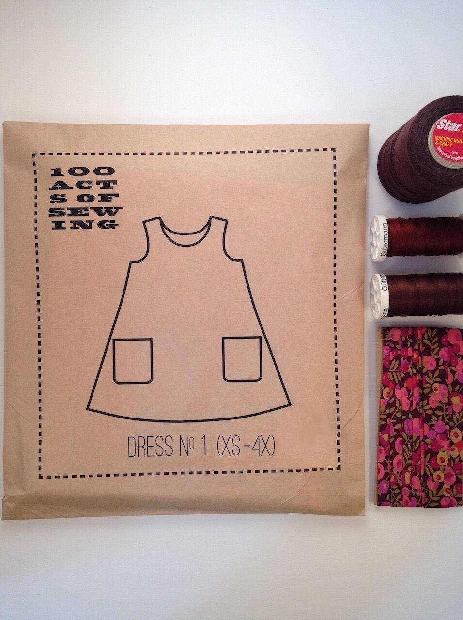 Dress No. 1 Pattern