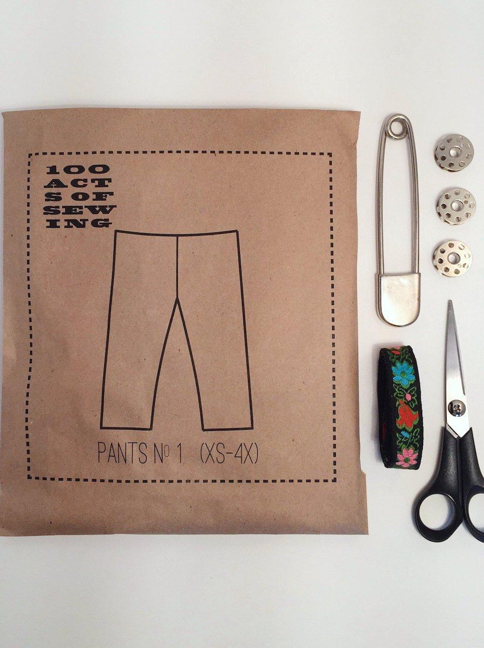 Pants No. 1 Pattern