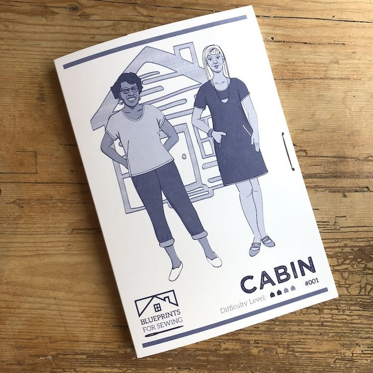 Cabin Shirt and Shift Dress sewing pattern