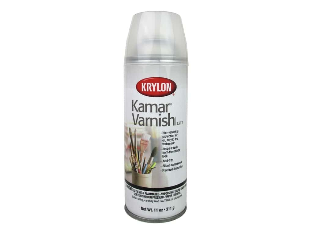 Kamar Varnish Aerosol Spray 11oz