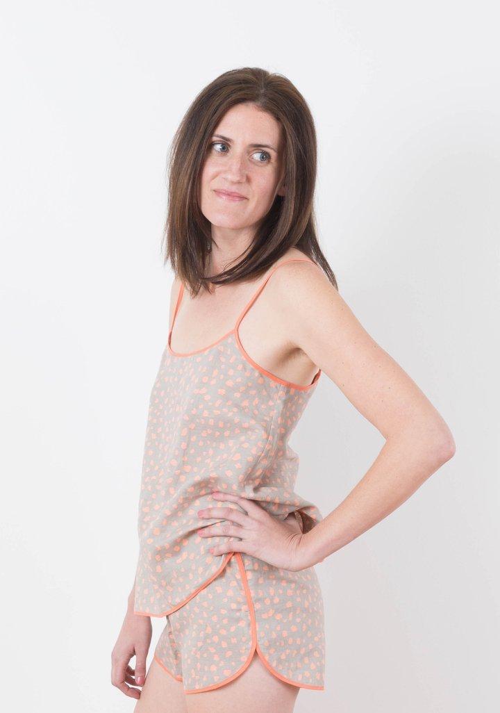 Grainline Studio Lakeside Pajamas sewing pattern