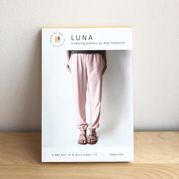 Made by Rae Luna Pants Sewing Pattern