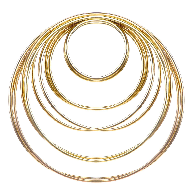 Metal Macrame Rings