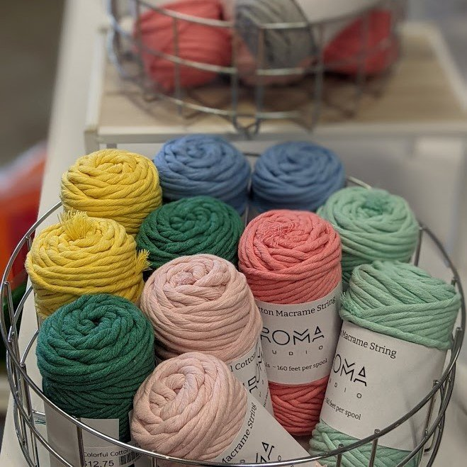 Colorful Cotton String