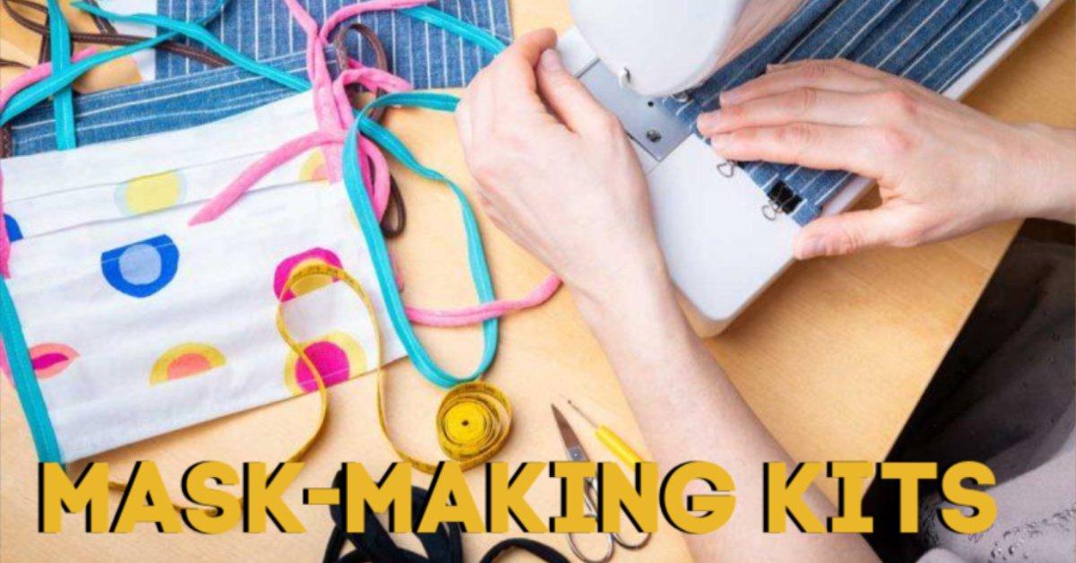 mask making kits from craft habit raleigh independent north carolina sewing supply store