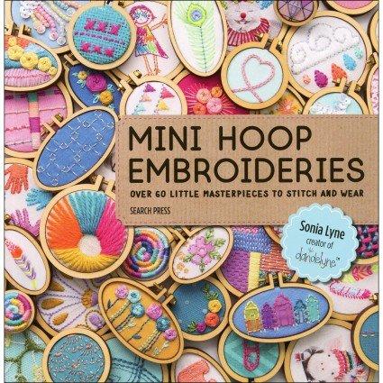 Mini Hoop Embroideries by Sonia Lyne