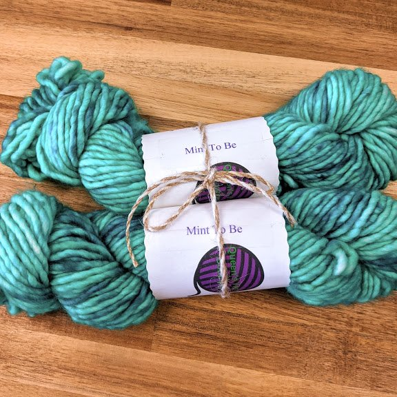 Mint to Be Bulky Yarn Bundle