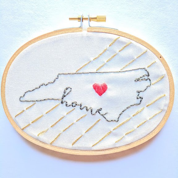 NC Home Embroidery Kit