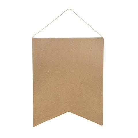 Paper Mache Pennant