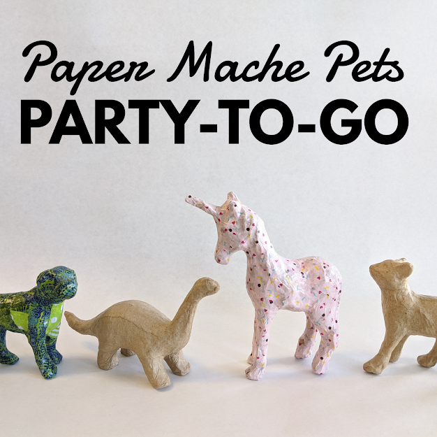 Paper Mache Pets Party-to-Go