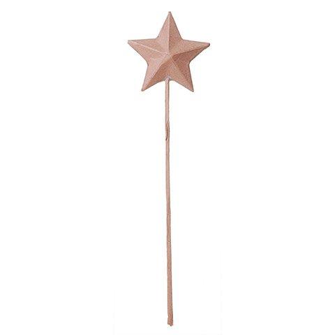 Paper Mache Star Wands