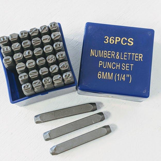 Letter & Number Metal Punch Sets