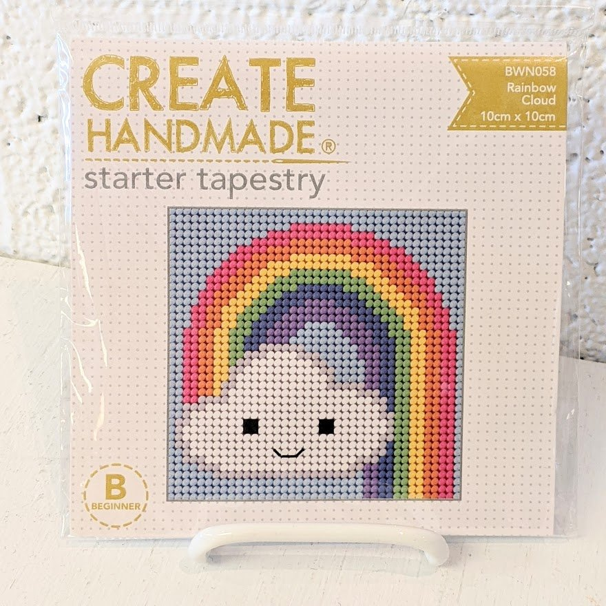 Rainbow Cloud Starter Tapestry Kit