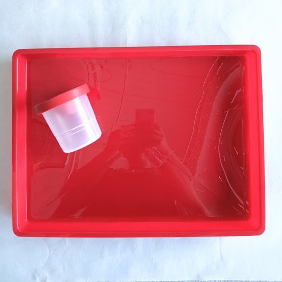 Art Tray & Spill-proof Water Cup Combo