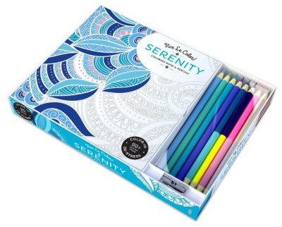 Serenity - Coloring Book & Pencils Set