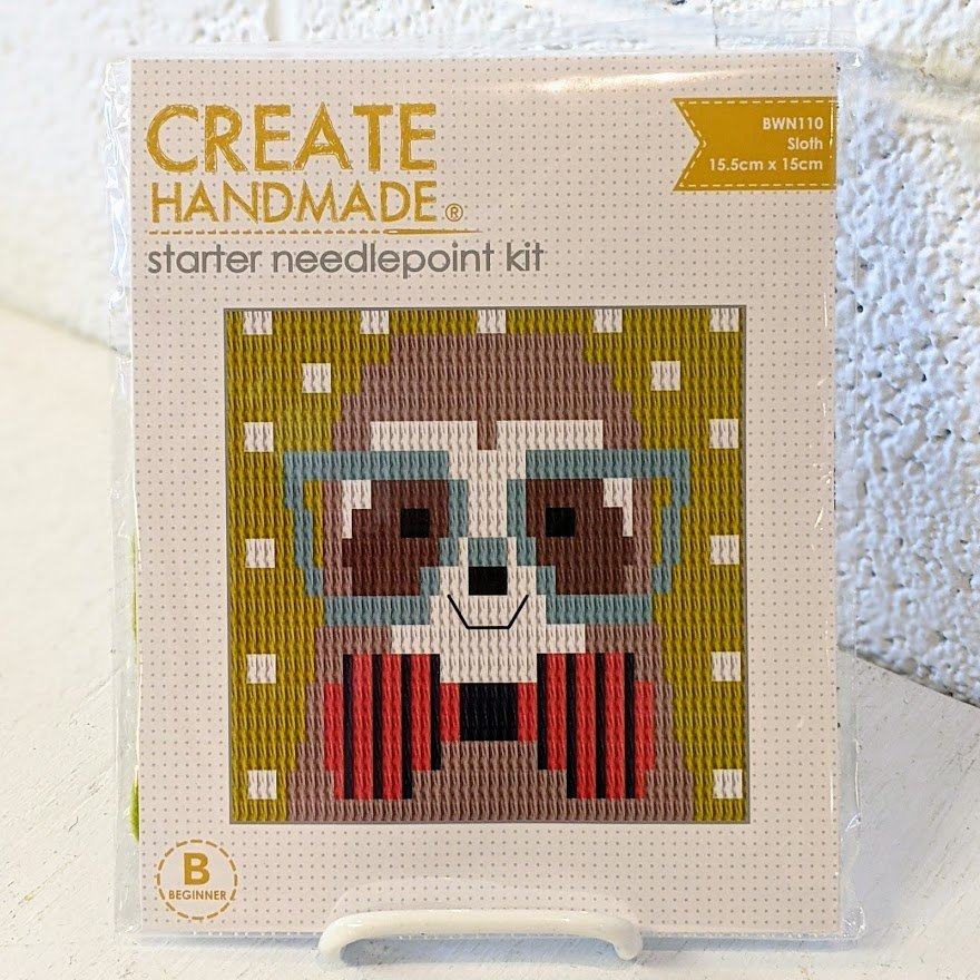 Sloth Starter Needlepoint Kit