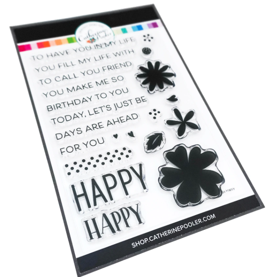 So Happy Sentiments Stamp Set