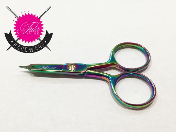 Tula Pink 4 Inch Large Ring Micro-Tip Scissors