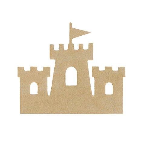 Unfinished Wood Castle