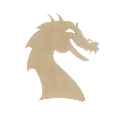 Unfinished Wood Dragon