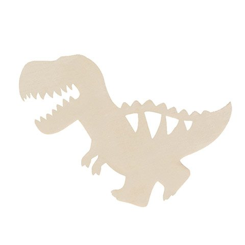 Unfinished Wood T-Rex