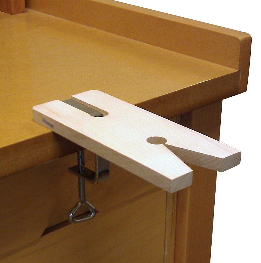 V Slot Bench Pin with clamp