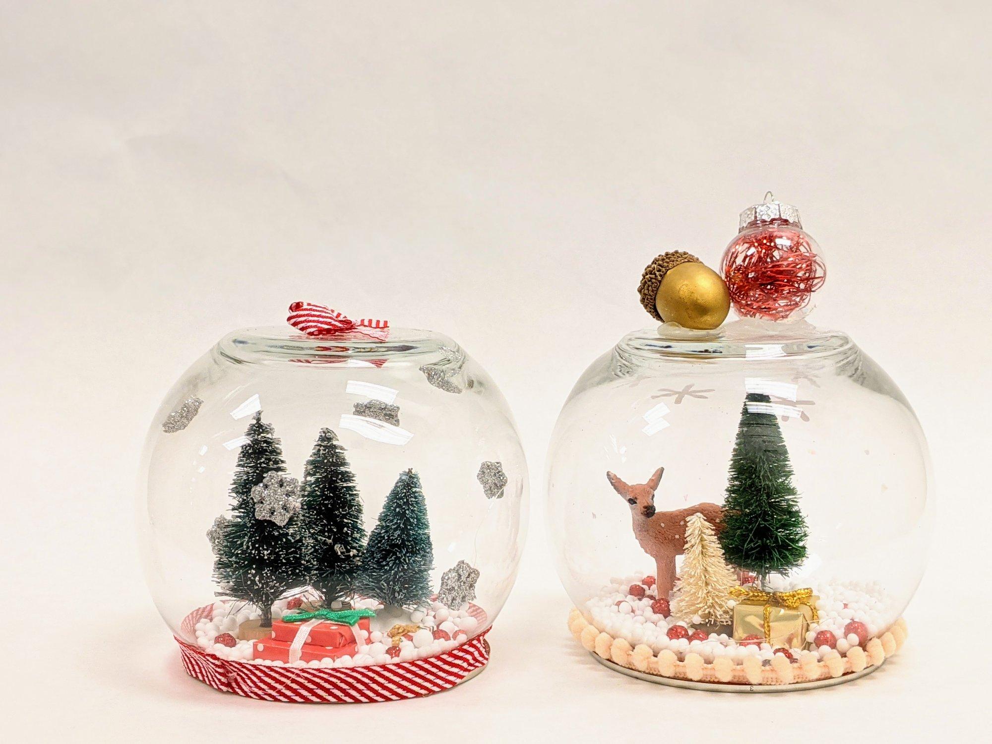 Winter Scene Snow Globe Kit