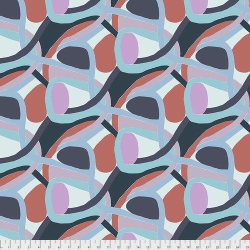 Woven Abstract Cotton Print