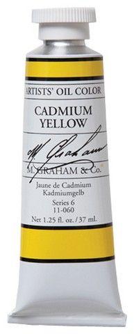 GRAHAM OIL 150ML CADMIUM YELLOW