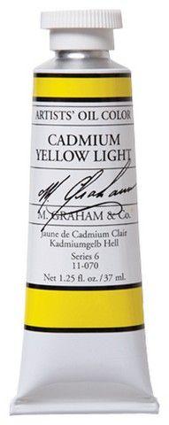 GRAHAM OIL 150ML CADMIUM YELLOW LIGHT