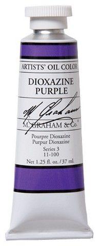 GRAHAM OIL 150ML DIOXAZINE PURPLE