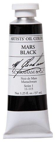 GRAHAM OIL 150ML MARS BLACK