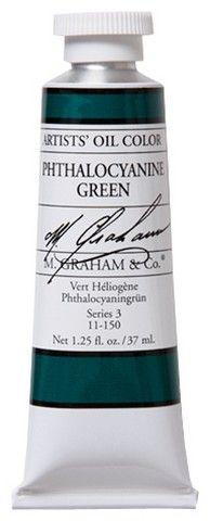 GRAHAM OIL 150ML PHTHALO GREEN